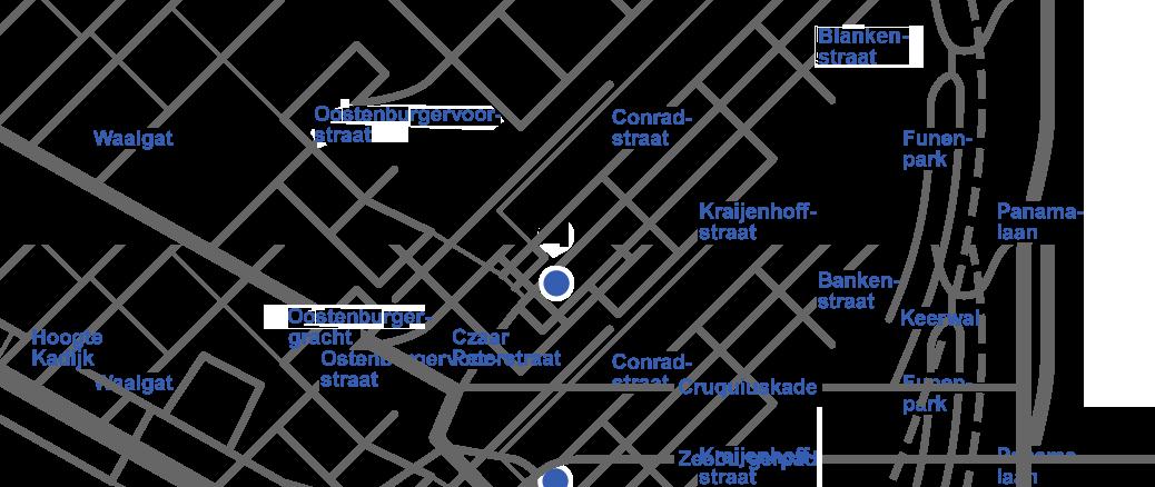 Medisch Centrum Czaar Peter locatie